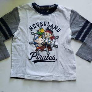 Jake and the Neverland pirates shirt